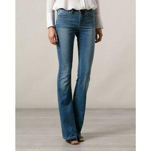 Michael Kors Womens Medium Wash Bootcut Blue Jeans
